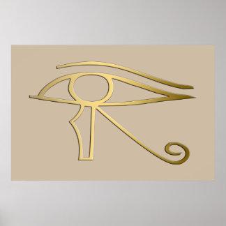 Eye of Horus Egyptian symbol Posters