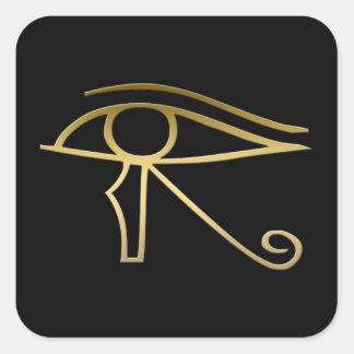 Eye of Horus Egyptian symbol Square Sticker