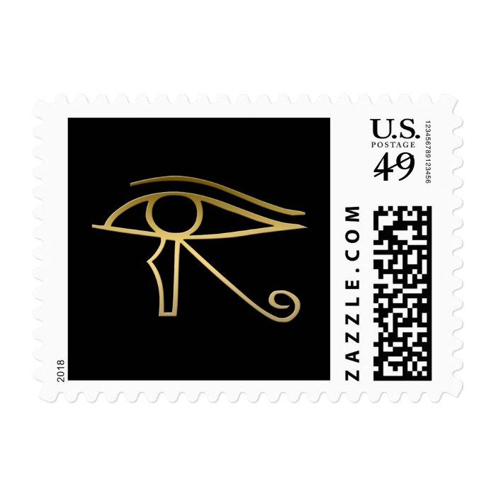 Eye of Horus Egyptian symbol Stamp