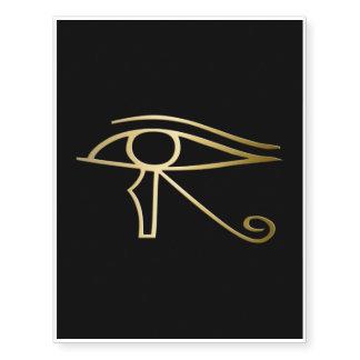 Egyptian temporary tattoos zazzle for Eye of horus temporary tattoo