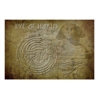 Eye of Horus Eye of Ra Print
