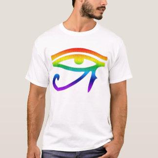 Eye of Horus Gay Pride T-Shirt