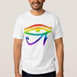 Eye of Horus Gay Pride Tee Shirt