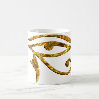 Eye Of Horus - GOLD Mug