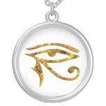 Eye Of Horus - GOLD Personalized Necklace