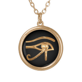 Eye of Horus Gold Plated Necklace