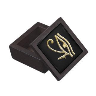 Eye of Horus Gold Premium Trinket Box