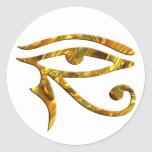 Eye Of Horus - GOLD Sticker