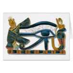 Eye of Horus Greeting Card