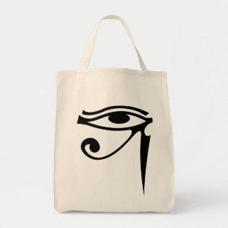 Eye of Horus Grocery Tote