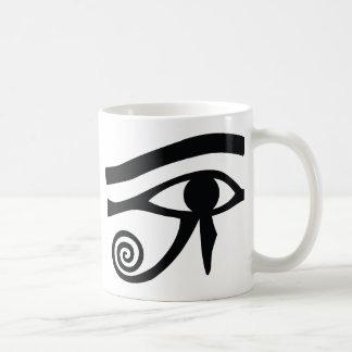 Eye of Horus Hieroglyphic Coffee Mugs