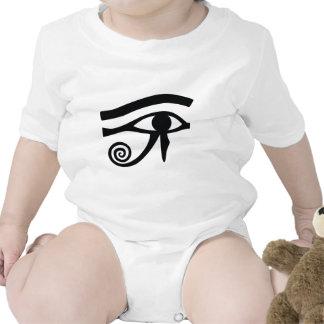 Eye of Horus Hieroglyphic Rompers