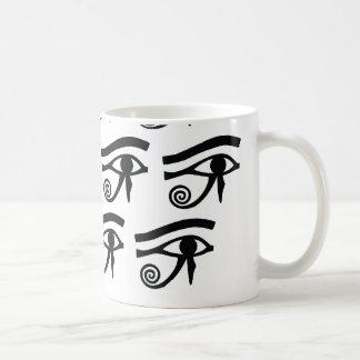 Eye of Horus Hieroglyphics Coffee Mug