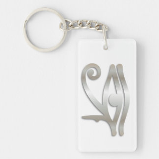 Eye Of Horus & If Found Contact Info-Key Chain #29 Keychain
