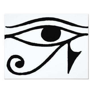 Eye of Horus 4.25x5.5 Paper Invitation Card