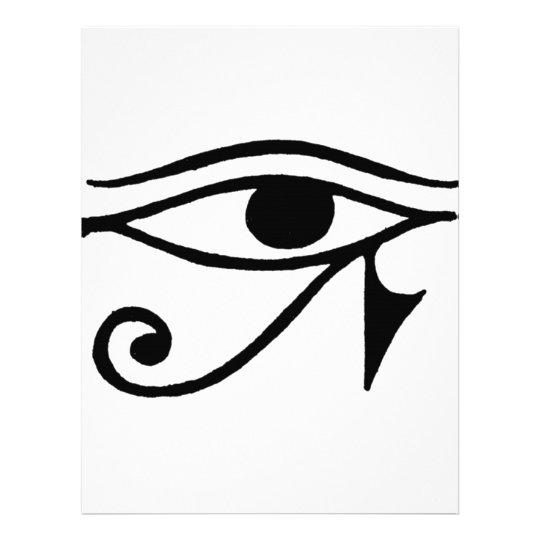 Eye of Horus Letterhead