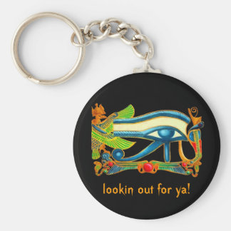 Eye of Horus lookin out for ya! key chain