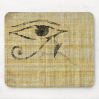 Eye of Horus on Papyrus Mouse Pad