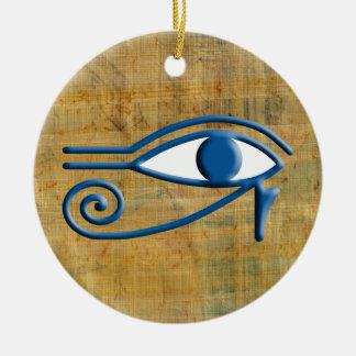 Eye of Horus Christmas Tree Ornaments