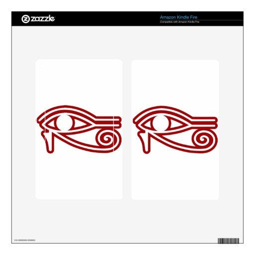 Eye_of_Horus Pegatinas Skins Para Kindle Fire