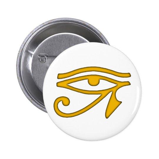 Eye of Horus Pinback Button