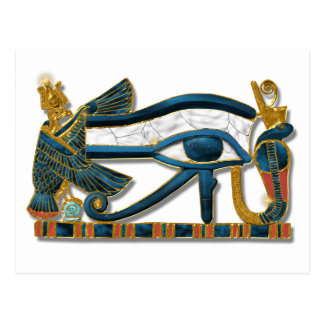 Eye of Horus Postcard