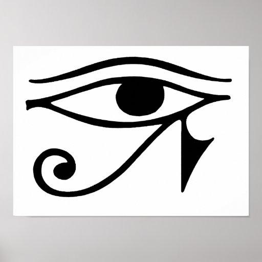 eye of horus poster