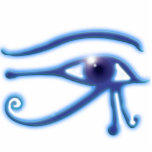 """EYE OF HORUS RA Ancient Egypt Sculpted Gift Item Statuette<br><div class=""""desc"""">A mystical Egyptian Symbol of Power Magnet for history-lovers! This very cool image featuring the famed Eye of Horus also known as the Eye of Ra and the All-seeeing Eye,  makes a fab Magnet!  25% of royalties from each sale made,  is donated to Defenders of Wildlife at: www.defenders.org</div>"""