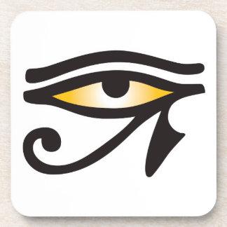 Eye of Horus Religion Drink Coaster