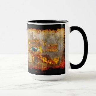 Eye of Horus Sacred Egyptian Art Mug