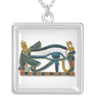 Eye of Horus Silver Plated Necklace