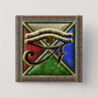 Eye of Horus Square Button