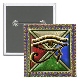 Eye of Horus Square Button
