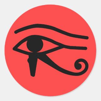 Eye of Horus Classic Round Sticker