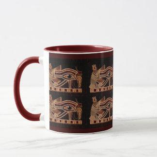 Eye of Horus Wadjet Egyptian Art Mug
