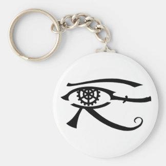 Eye of Khopesh Basic Round Button Keychain