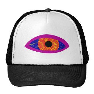 Eye of lightnings of stars eye of flashes star mesh hat