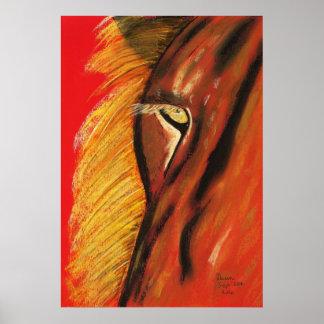 eye of lion poster