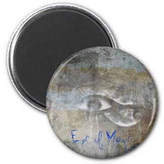 Eye of Magic 2 Inch Round Magnet