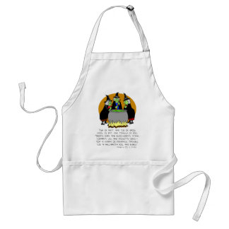 Eye Of Newt 3 Witches Adult Apron