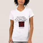 Eye of Newt - Cheeky Spell T Shirt (red)