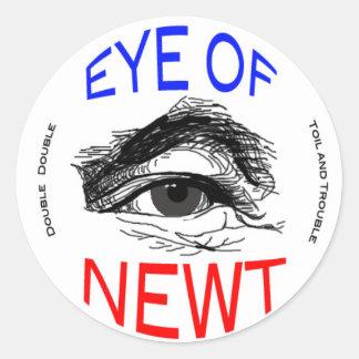 Eye of Newt Classic Round Sticker