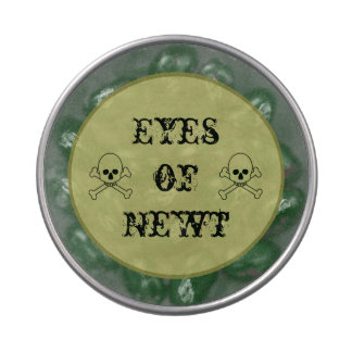Eye Of Newt Halloween Candy Bar Party Treats Candy Tin