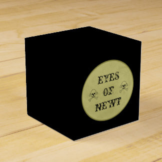 Eye Of Newt Label Halloween Potions Witch's Brew Favor Boxes