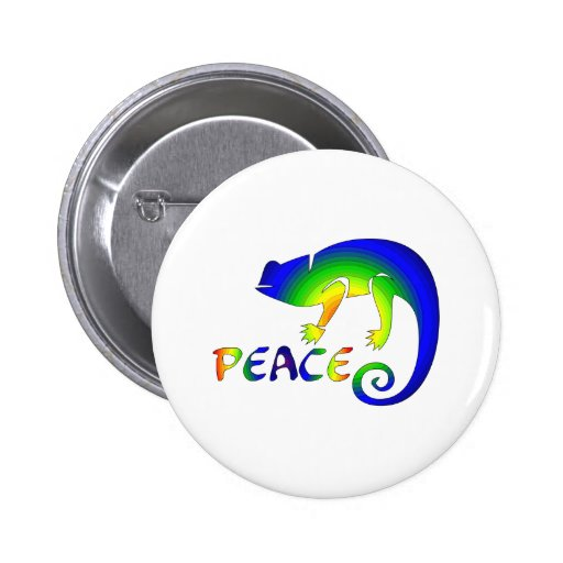 Eye Of Newt Peace 2 Inch Round Button