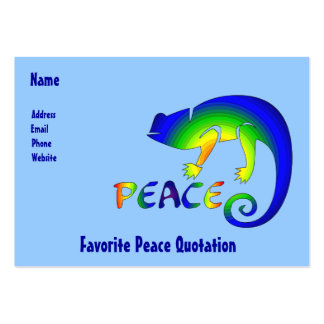 Eye Of Newt Peace Large Business Card