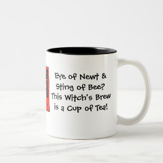 Eye of Newt & Sting of Bee? Witch's Brew... Mugs