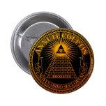 Eye of Providence 3 Pinback Button