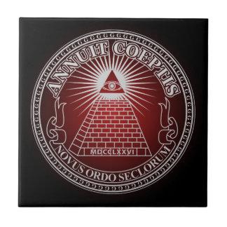 Eye of Providence 4 Tile