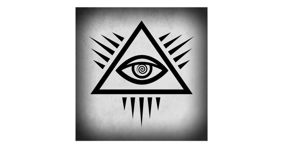 EYE of PROVIDENCE ANCIENT SYMBOL Poster | Zazzle